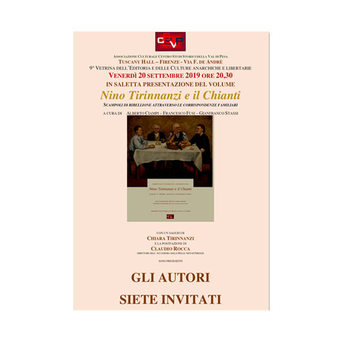 Nino Tirinnanzi e il Chianti